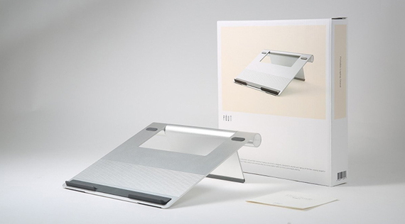 """POUT EYES3 stand voor 17,3"""" laptops - Zilver"""