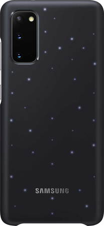 Samsung LED backcover voor Galaxy S20 - Zwart