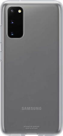 Samsung Clear cover voor Galaxy S20