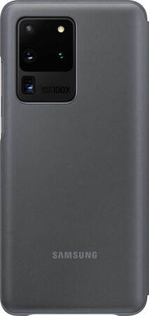 Samsung LED view cover voor Galaxy S20 Ultra - Grijs