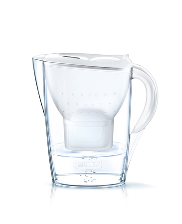 Brita Carafe filtrante - Fill & Enjoy - Marella Cool White incl. 3 MAXTRA+