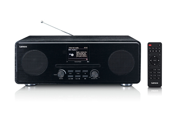 Lenco DIR-260BK Internet radio DAB+ Bluetooth - Zwart
