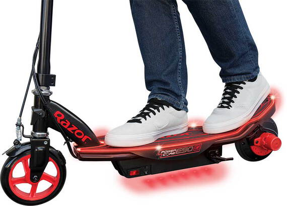 Razor Elektrische step Power Core E90 Glow - Rood