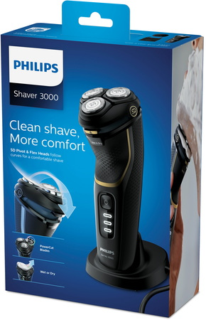Philips Scheerapparaat 3300 S3333/54 Wet & Dry