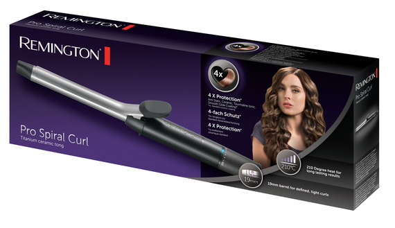 Remington Fer à boucler Pro Spiral Curls 19mm CI5519