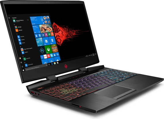 HP OMEN Laptop 15-DC1112NB Shadow Black