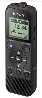 Sony Dictafoon ICD-PX370 (Voice recorder) Zwart