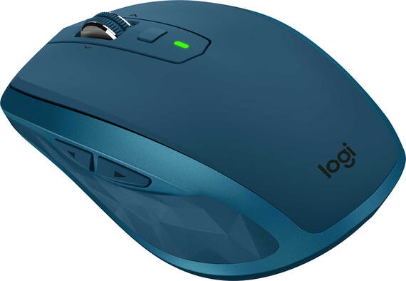 Logitech MX Anywhere 2S souris sans fil Bleu Sarcelle