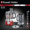 Russell Hobbs Foodprocessor Retro Red 25180-56