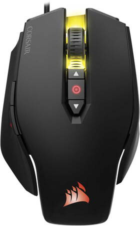 Corsair M65 PRO RGB FPS gaming muis Zwart