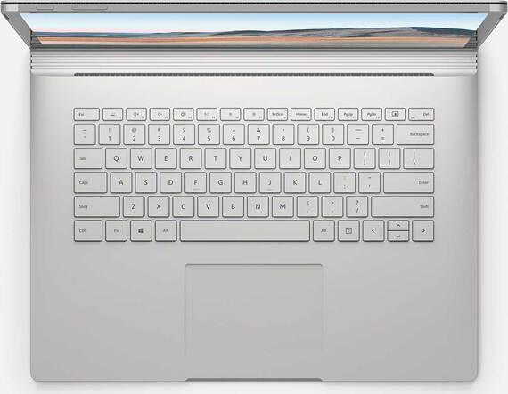"Microsoft Surface Book 3 13,5"" Core™ i7 512 GB Platina"