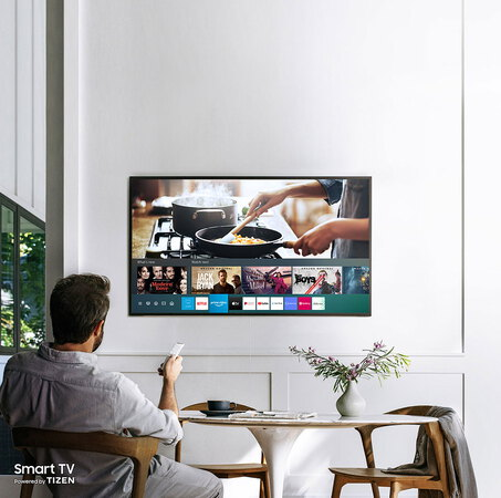 Samsung TV The Frame (2020) QLED 4K QE55LS03T - 55 inch