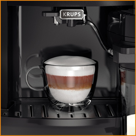 Krups Machine à Expresso automatique Arabica Latte EA819E10