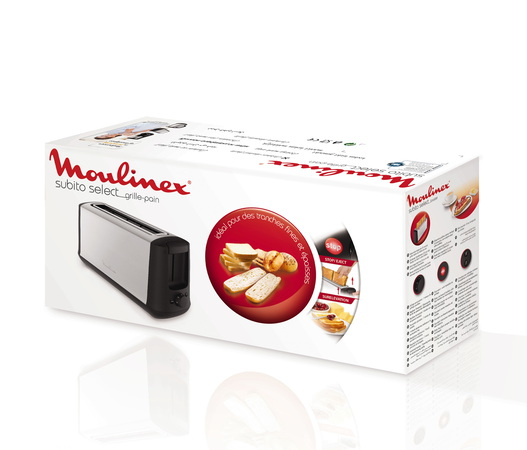Moulinex Broodrooster Subito Select Long Slice LS340811