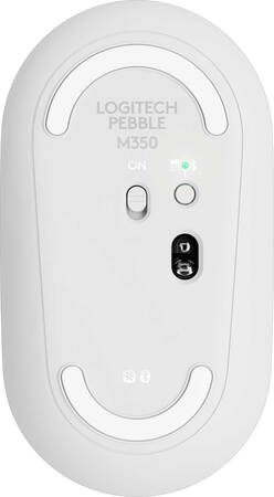 Logitech Pebble M350 souris sans fil Blanc