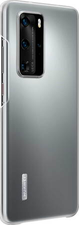 Huawei Backcover Clear Case voor P40 Pro - Transparant