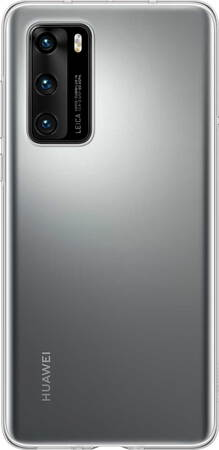 Huawei Backcover Clear Case voor P40 - Transparant