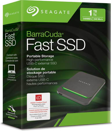 Seagate BarraCuda® Fast SSD - 500 GB