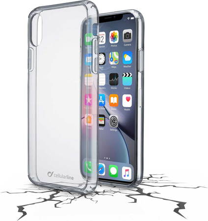 Cellular Line Coque Clear Duo pour iPhone Xr