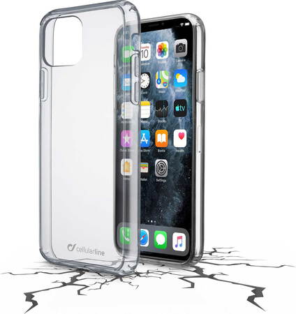 Cellular Line Clear Duo backcover voor iPhone 11 Pro Max