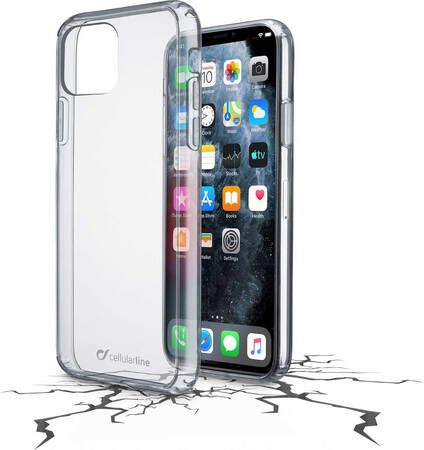 Cellular Line Clear Duo backcover voor iPhone 11 Pro