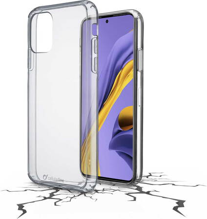 Cellular Line Coque Clear Duo pour Galaxy A51 - Transparant