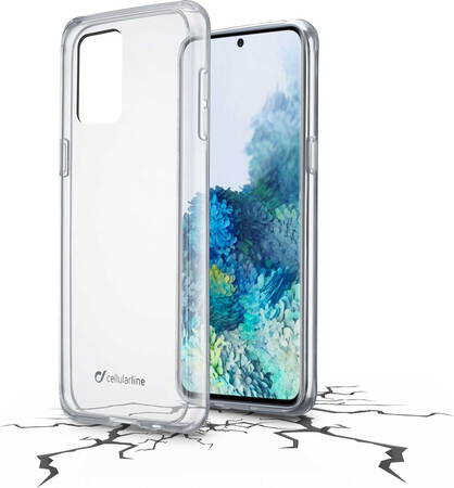 Cellular Line Coque Clear Duo pour Galaxy A21s - Transparant