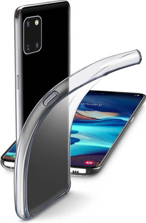 Cellular Line Fine backcover voor Galaxy S10 Lite - Transparant