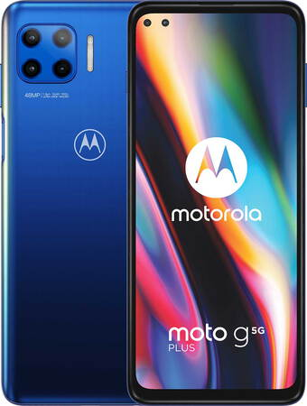 Motorola moto g 5G plus Surfing Blue - 64 Go