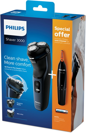 Philips Scheerapparaat Series 3000 S3134/57