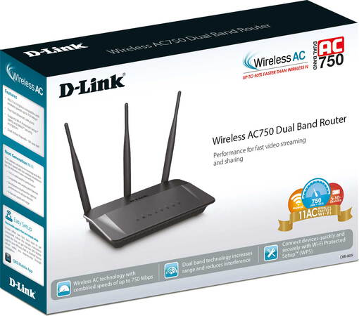 D-Link Routeur Wireless AC750 Dual Band