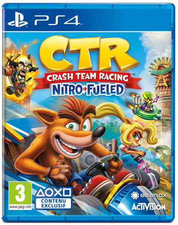 Playstation Crash Team Racing Nitro-Fueled