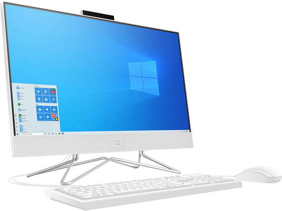 HP All-in-One 24-DF0016NB Snowflake White
