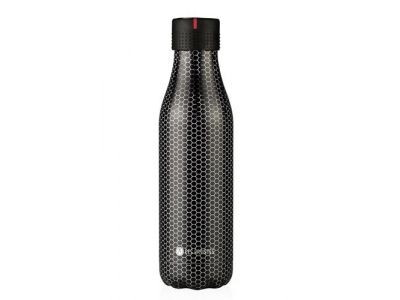 LES ARTISTES Bottle up 500ml metal textuur bb ev4