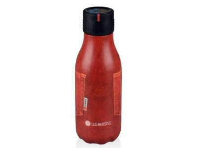 LES ARTISTES Bottle up 280ml jeans rood ev4