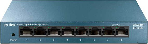 TP Link 8-port Gigabit Desktop Switch LS108G