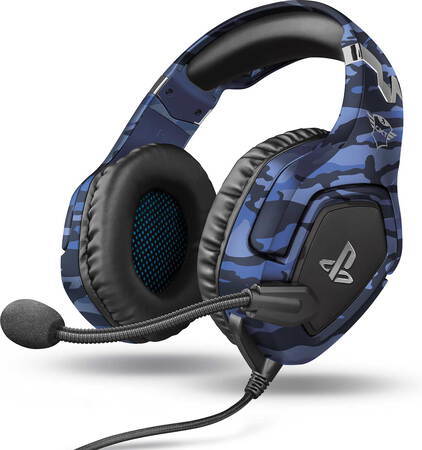 Trust GXT 488 Forze-G PS5 gaming headset - Blauw