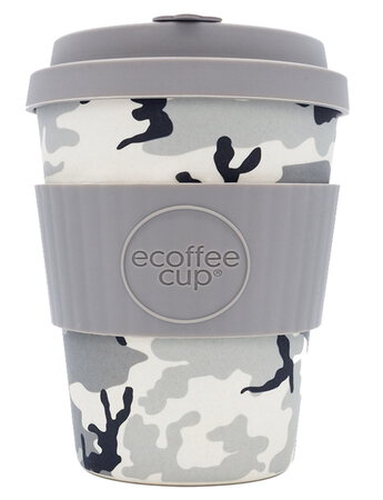 ECOFFEE Ecoffee Cup Herbruikbare Takeaway Beker in Bamboevezel Cacciatore 34cl