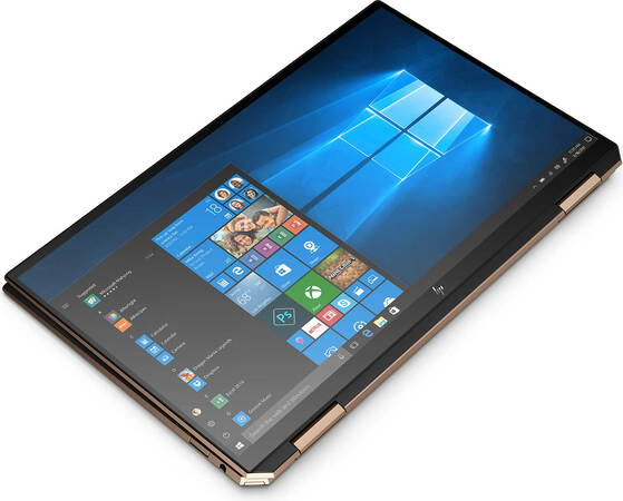 HP Spectre x360 Convertible 13-AW0000NB Nightfall Black