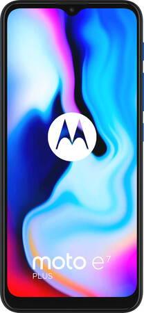 Motorola moto e7 plus Misty Blue