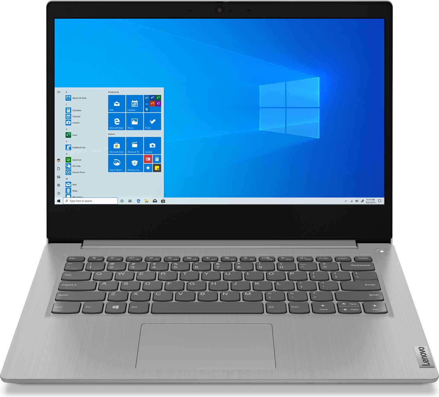 IdeaPad 3 14IIL05 Platinum Grey