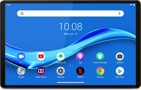 Lenovo Tab M10 Full HD Plus Iron Grey + station d'accueil