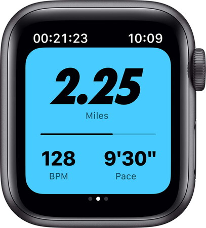 Apple Watch Series 6 Nike - Sideral Gray/Anthracite Black 40mm
