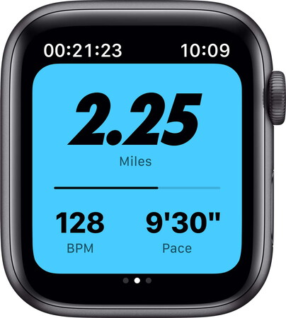 Apple Watch Series 6 Nike - Sideral Gray/Anthracite Black 44mm