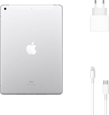 Apple iPad (2020) 32 GB Wi-Fi + LTE Zilver