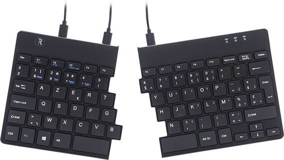 R-GO Split Break clavier ergonomique - Azerty