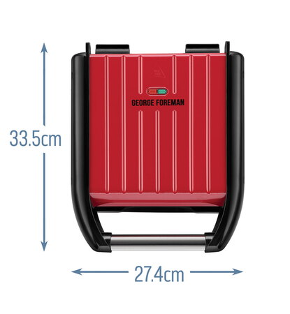 George foreman Grillade Small 25030-56  - Rouge