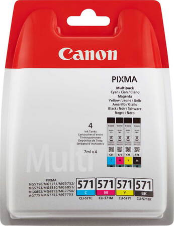 Canon Multipack CLI-571 CMYK 4 couleurs