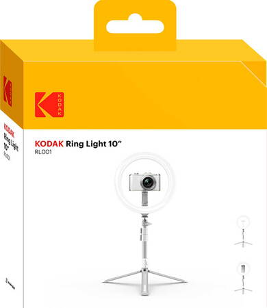 "Kodak 10"" Ring Light avec trépied"