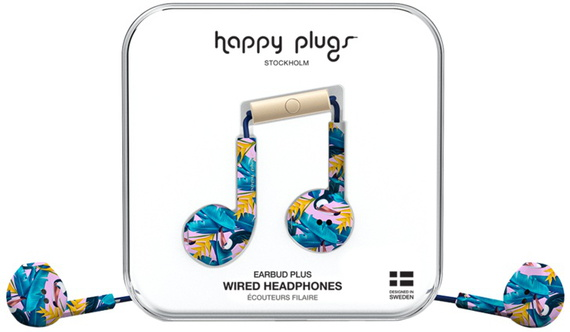 Happy Plugs Earbud Plus - Blauw, Multi-color